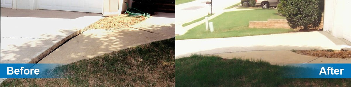 Concrete Driveway Raising and Repair in St  Louis