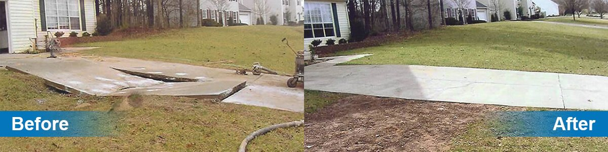 Repair Sunken Concrete in Edwardsville, IL | Quality